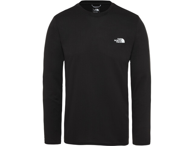 The North Face Reaxion Amp Girocollo a maniche lunghe Uomo, tnf black